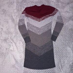 Izod women swester dress size M.
